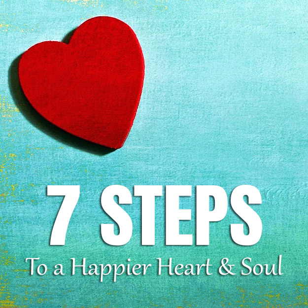 Transformational lifestyle courses at The Sunshine Hub with 7 Steps to a Happier Heart and Soul