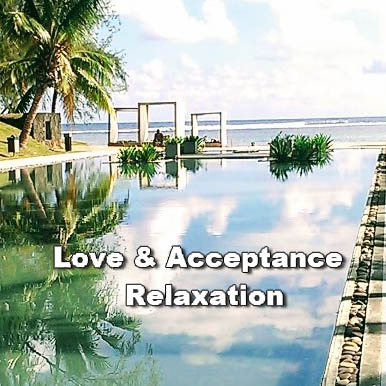 Transformational lifestyle courses at The Sunshine Hub with Love and Acceptance Relaxation Audio